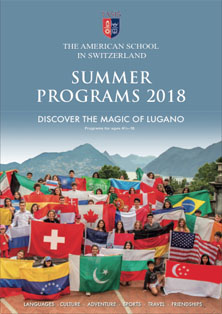 2018 Summer Program Catalog