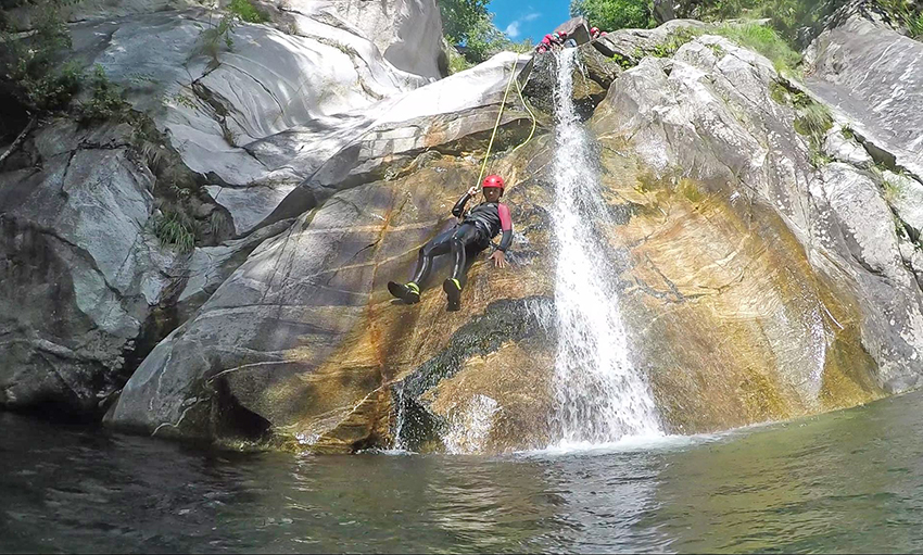 TASIS The American School in Switzerland Canyoning trip